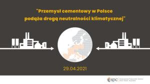 Przemysł cementowy w Polsce podąża drogą neutralności klimatycznej