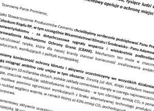 Nie pozwólmy na to, żeby Polskę zalał cement ze Wschodu
