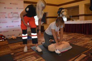 Szkolenie z ratownictwa podczas DNI BETONU 2021